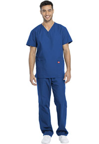 Dickies Unisex Top and Pant Set Royal (DKP520C-ROYW)