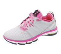 Reebok Athletic Footwear CloudGrey,PoisonPink,White,Roy (DMXCLOUDRIDE-GPWR)