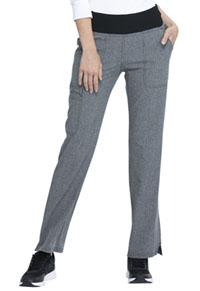 Simply Polished Mid Rise Straight Leg Pull-on Pant (EL130-HGY) (EL130-HGY)