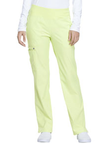Simply Polished Mid Rise Straight Leg Pull-on Pant (EL130-LISO) (EL130-LISO)