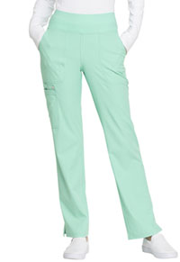 Simply Polished Mid Rise Straight Leg Pull-on Pant (EL130-SPMT) (EL130-SPMT)