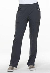 Simply Polished Mid Rise Tapered Leg Drawstring Pant (EL150-PWT) (EL150-PWT)