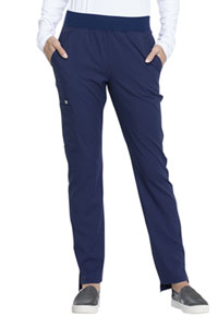 Elle Natural Rise Tapered Leg Pull-on Pant Navy (EL165-NAV)
