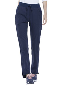 Simply Polished Natural Rise Straight Leg Pant (EL167P-NAV) (EL167P-NAV)