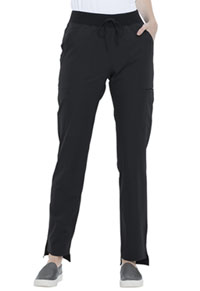 Elle Natural Rise Straight Leg Pant Black (EL167-BLK)