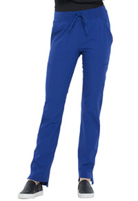 Elle Natural Rise Straight Leg Pant Galaxy Blue (EL167-GAB)