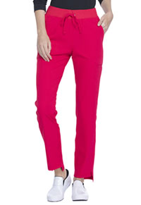 Elle Natural Rise Straight Leg Pant Rouge (EL167-RUE)