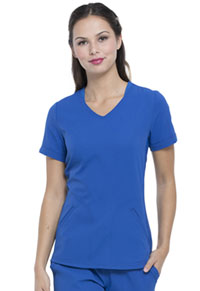 Elle V-Neck Top Royal (EL604-ROY)