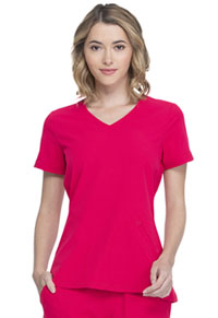 Elle V-Neck Top Rouge (EL604-RUE)