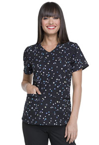 Elle V-Neck Top Simply Stars (EL715-SISS)