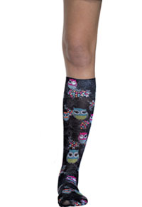 Cherokee Knee Highs 12 mmHg Compression Too Cute To Hoot (FASHIONSUPPORT-TCTE)