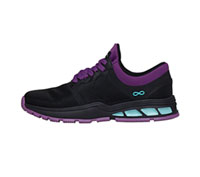 Infinity Footwear FLY Black, Neon Purple, Aruba Blue (FLY-BKNE)