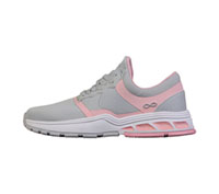 Infinity Footwear FLY LIght Grey with Power Pink (FLY-LGPP)