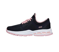 Infinity Footwear FLY Pewter/Powder Pink (FLY-PWPK)