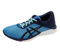 Asics Premium Athletic Diva Blue, Indigo Blue, White (FUZEXRUSH-DBBW)