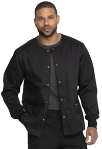 Genuine Dickies Industrial Strength Unisex Warm-up Jacket (GD300-BLK) (GD300-BLK)