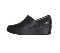 Infinity Footwear Leather Footwear Black on Black (GLIDE-BKBK)