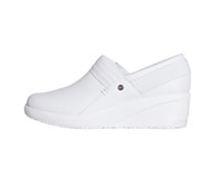 Infinity Footwear Leather Footwear White, White (GLIDE-WWWH)