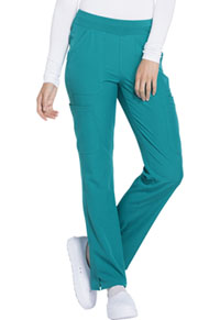 HeartSoul Drawn To Love Low Rise Cargo Pant Teal Blue (HS020-TEAH)