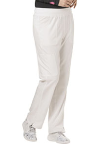 HeartSoul Break on Through Low Rise Cargo Pant in White (HS020-WHIH)