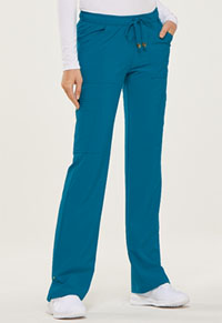 9809be8024e ... HeartSoul Love Always Low Rise Drawstring Pant in Caribbean Blue  (HS025-CAPS)