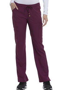 HeartSoul Charmed Low Rise Drawstring Pant Wine (HS025-WNPS)