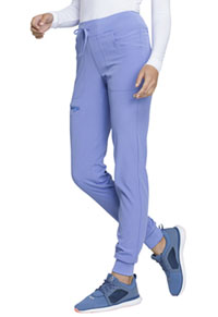 HeartSoul Break on Through Low Rise Tapered Leg Jogger in Ciel (HS030-CILH)