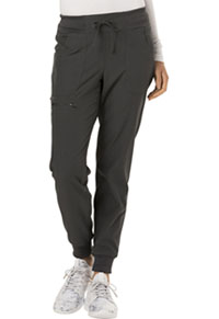 HeartSoul Low Rise Tapered Leg Jogger Pewter (HS030-PEWH)