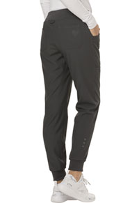 "HeartSoul Break on Through ""The Jogger"" Low Rise Tapered Leg Pant in Pewter (HS030-PEWH)"