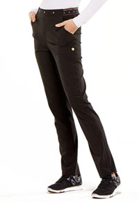 HeartSoul Love Always Natural Rise Tapered Leg Pant in Black (HS045-BAPS)