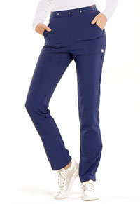 HeartSoul Love Always Natural Rise Tapered Leg Pant in Navy (HS045-NYPS)