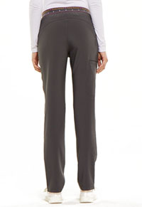 "HeartSoul Love Always ""Adored"" Natural Rise Tapered Leg Pant in Pewter (HS045-PWPS)"