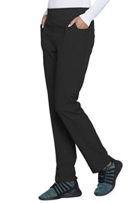 HeartSoul Break on Through Natural Rise Tapered Leg Pant in Black (HS070-BCKH)