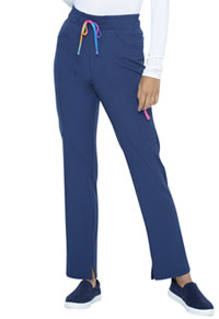 Heartsoul Mid Rise Tapered Leg Drawstring Pant Navy (HS098-NAYH)