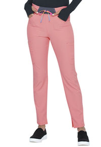 Heartsoul Mid Rise Tapered Leg Drawstring Pant Pink Dream (HS098-PDEA)