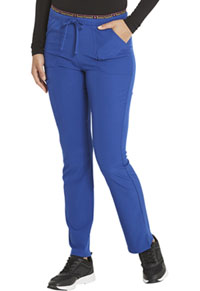 Heartsoul Mid Rise Tapered Leg Drawstring Pant Galaxy Blue (HS185-GLXH)