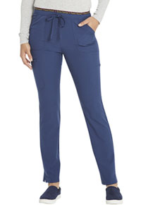 Heartsoul Mid Rise Tapered Leg Drawstring Pant Navy (HS185-NAYH)