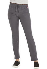 Heartsoul Mid Rise Tapered Leg Drawstring Pant Pewter (HS185-PEWH)