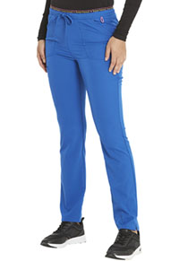 Heartsoul Mid Rise Tapered Leg Drawstring Pant Royal (HS185-ROYH)