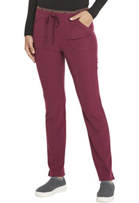Heartsoul Mid Rise Tapered Leg Drawstring Pant Wine (HS185-WINH)