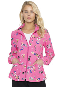 HeartSoul Zip Front Jacket Flowering Fields (HS301-FLWI)