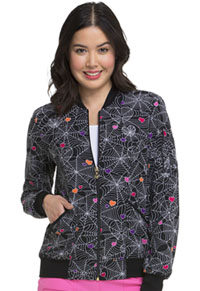 Zip Front Bomber Jacket Wicked Cute (HS311-WICK)