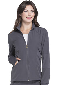 Zip Front Warm-up Jacket (HS315-PEWH)
