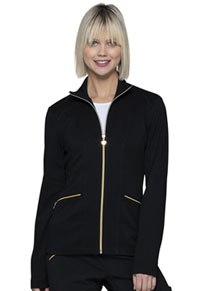 Heartsoul Zip Front Jacket Black (HS325-BAPS)