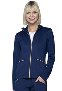 HeartSoul Zip Front Jacket Navy (HS325-NYPS)