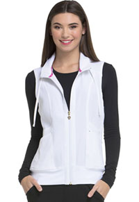 Break on Through Zip Front Vest (HS500-WHIH) (HS500-WHIH)