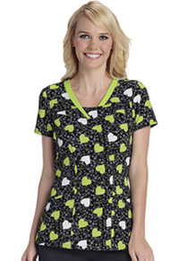 HeartSoul V-Neck Top Young Love Lime Dream (HS600X2-YODR)