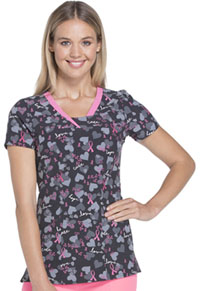 HeartSoul V-Neck Top Love Is All Around Us (HS600-LVAU)