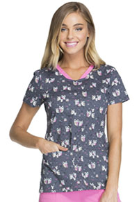 V-Neck Top I'm Owl Fancy (HS614-IMOW)