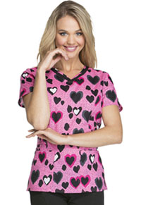 HeartSoul V-Neck Top Wildly In Love (HS617-WILV)